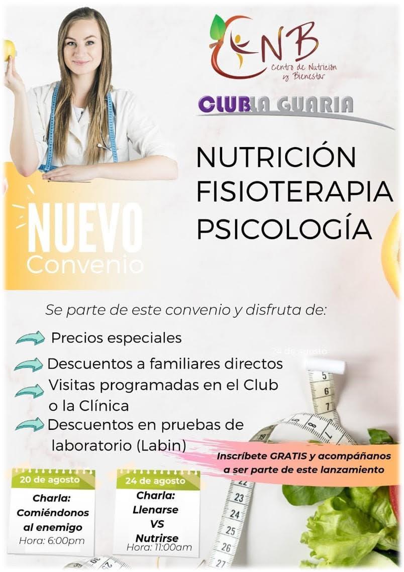 Convenio de Nutrición