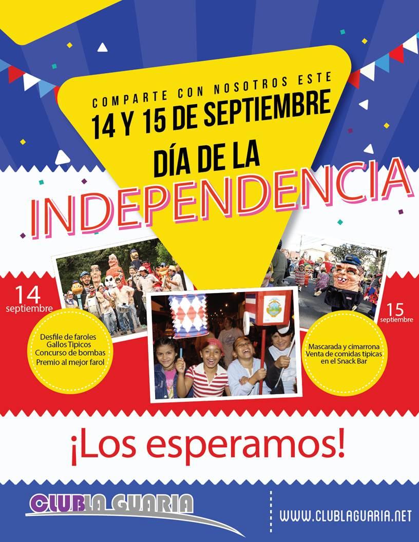 Celebre nuestra independencia
