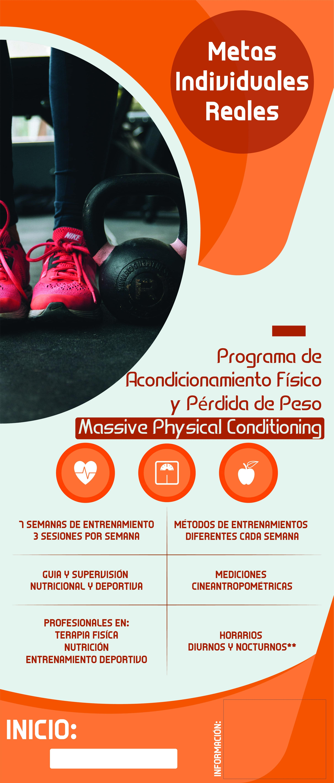 Programa Pérdida de Peso (Massive Physical Conditioing)