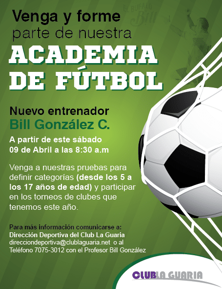 Academia de Fútbol Club La Guaria