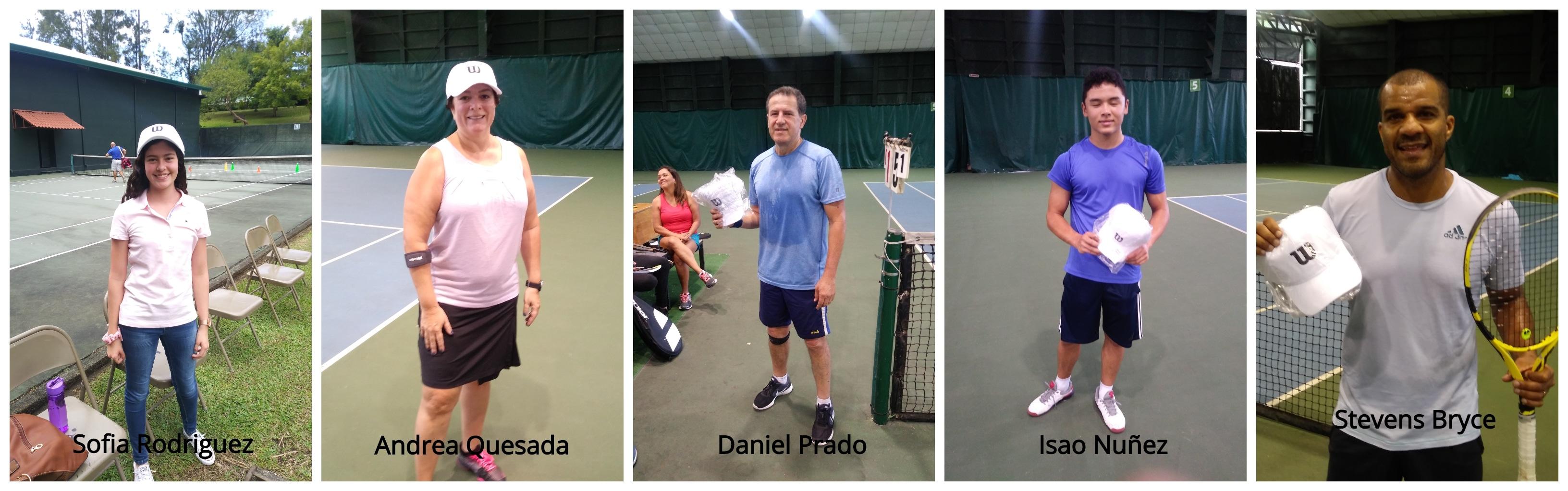 Subcampeones torneo de tenis