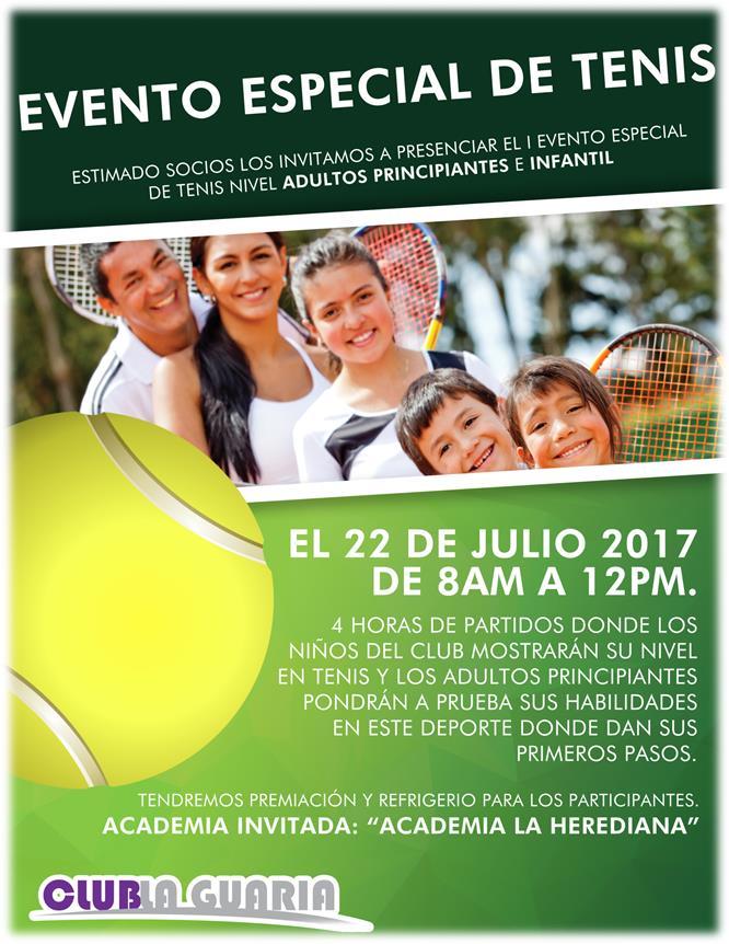 Evento Especial de Tenis