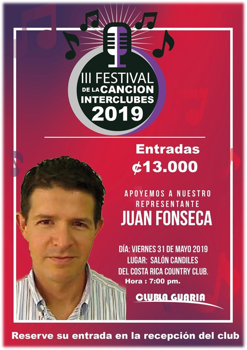 Festival de la canción Interclubes 2019