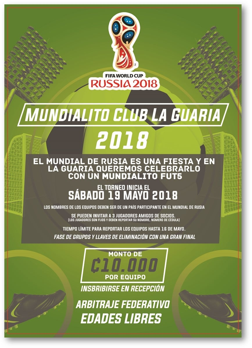 Mundialito Club la Guaria