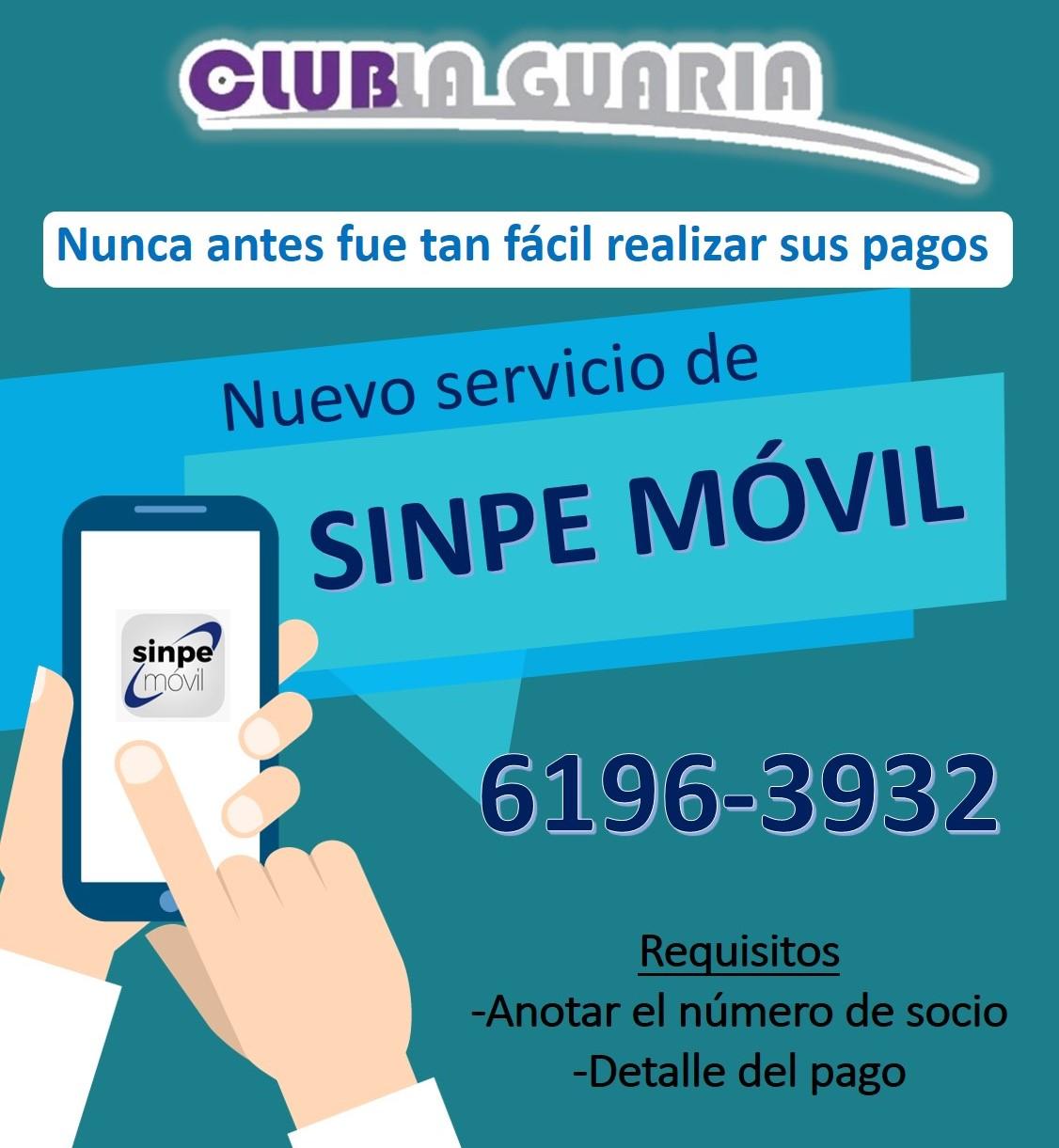 Nuevo servicio de Sinpe Móvil