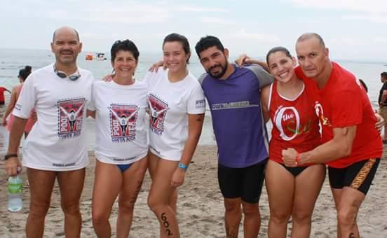 Felicitaciones a los Competidores de Aguas Abiertas Punta Leona