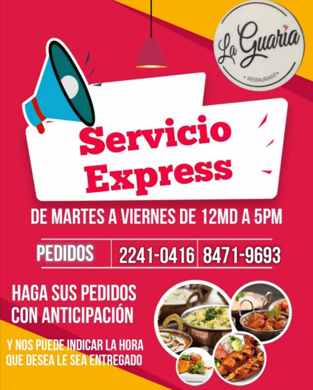 Servicio Express Restaurante Casa Club