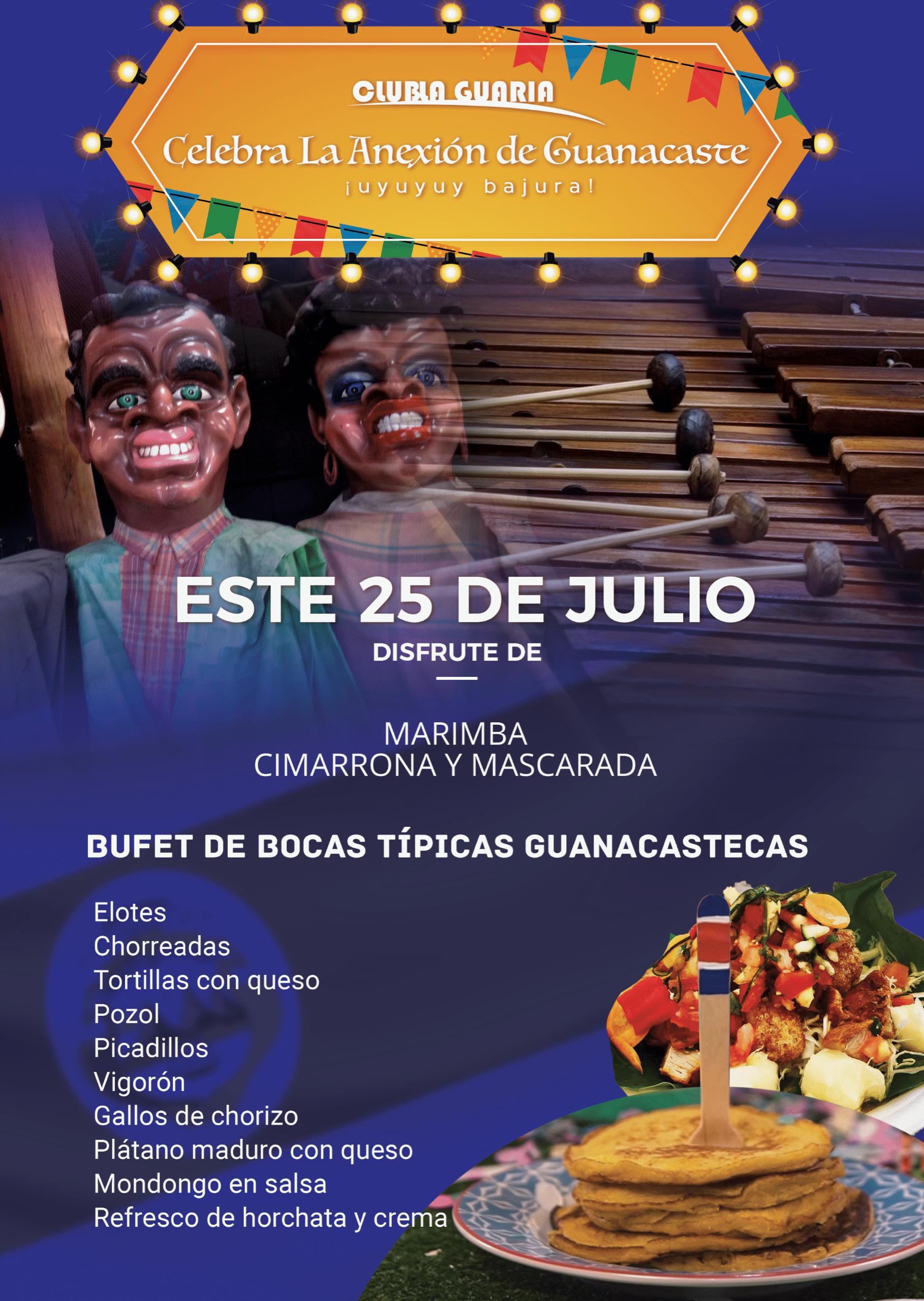 Celebra La Anexión de Guanacaste