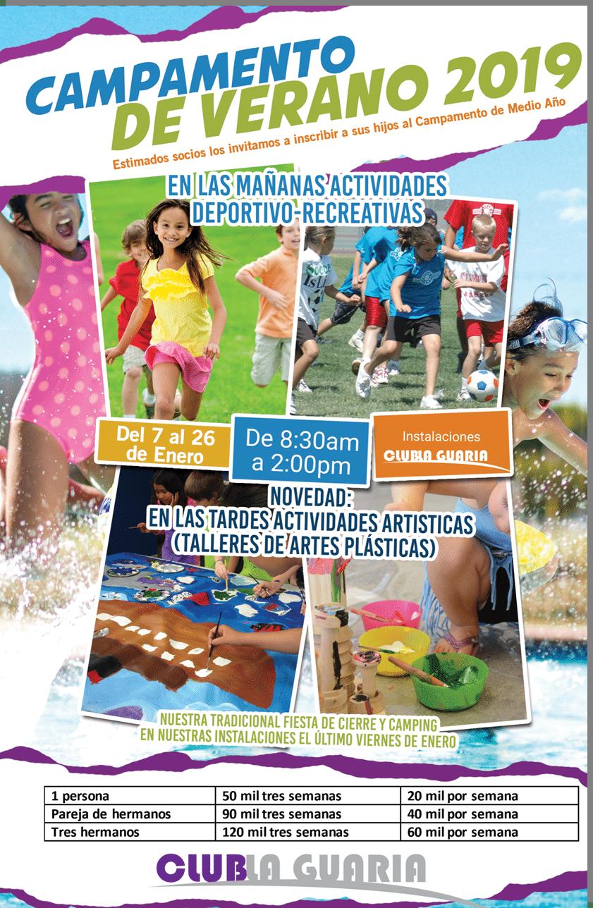 Día de Verano, Socios Club La Guaria 2016